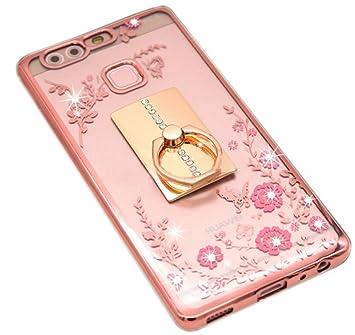 nnopbeclik [ - Carcasa Huawei P9 Plus silicona] diamante ...