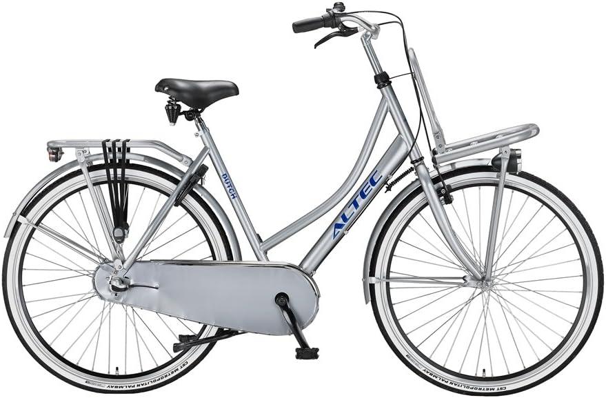Women Bike Altec 28 Inch Front Brake on Handlebar and Rear Coasterbrake Shimano Nexus 3 Speed Gearbox Silver 85/% Assembled