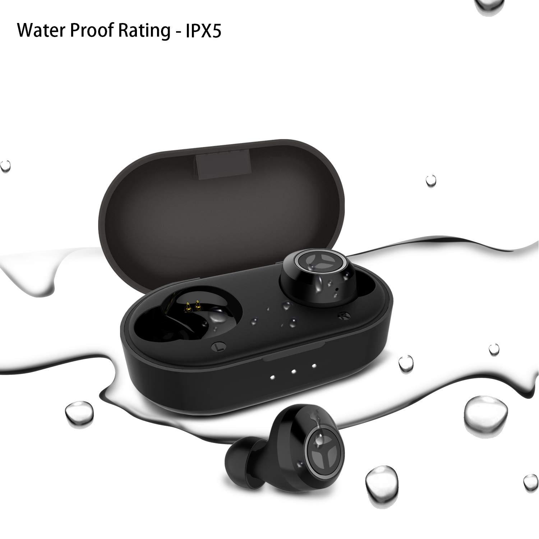 b7b30ce3a49 Bluetooth 5.0 Deep Bass True Wireless Headphones,TRANYA T2 Sports ...
