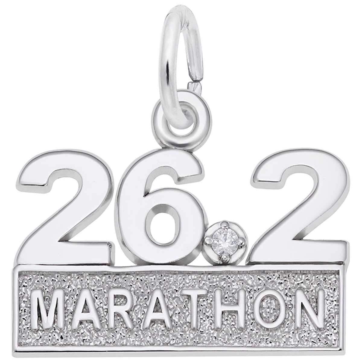 Rembrandt Charms Marathon 26.2 Charm