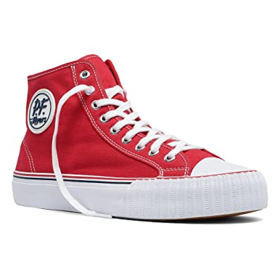 Men's Athletic Inspired For Sale PF Flyers Men Center Hi Canvas Navy Print PM14OH7B Inexpensive Way