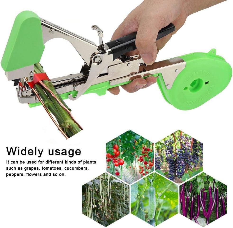 Eamplest Garden Tapetool Tapener Plant Branch Flower Vegetable Hand Tying Binding Machine Tape Tools