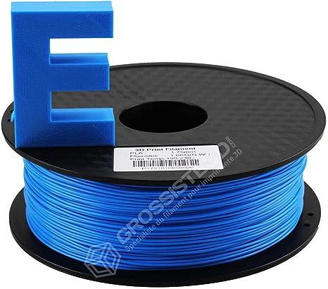 Filamento 3D azul fluorescente PLA para impresora 3D 3,00 mm ...