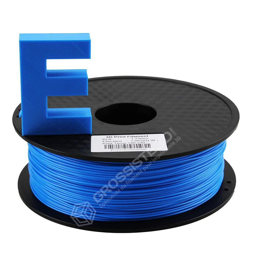 Grossiste3D®: filamento 3D azul neón, PLA, 3,00 mm; hilo de ...