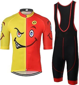 Cycling Jersey WEIMOSTAR Men Bike Clothing Half Sleeve Cycling Bib Shorts Set