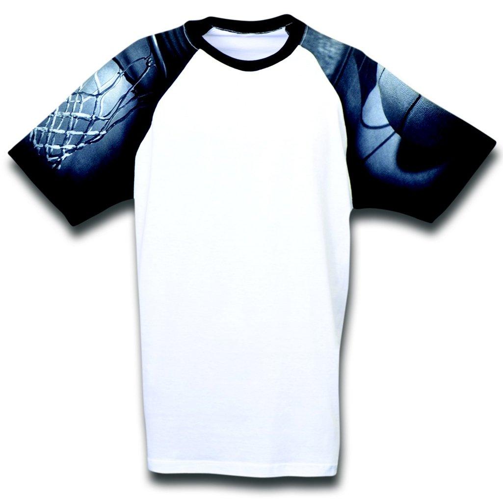 【国内即発送】 バスケットボールYouth Designer Large Tシャツから日常生活 B00CIYM0ZY Large Designer ホワイト/ブラック B00CIYM0ZY, スサミチョウ:9a31e460 --- eastcoastaudiovisual.com
