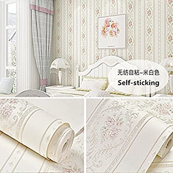 Hongrun Papier Peint Auto Adhesif Chambre Chaude Dortoir Non Tisse