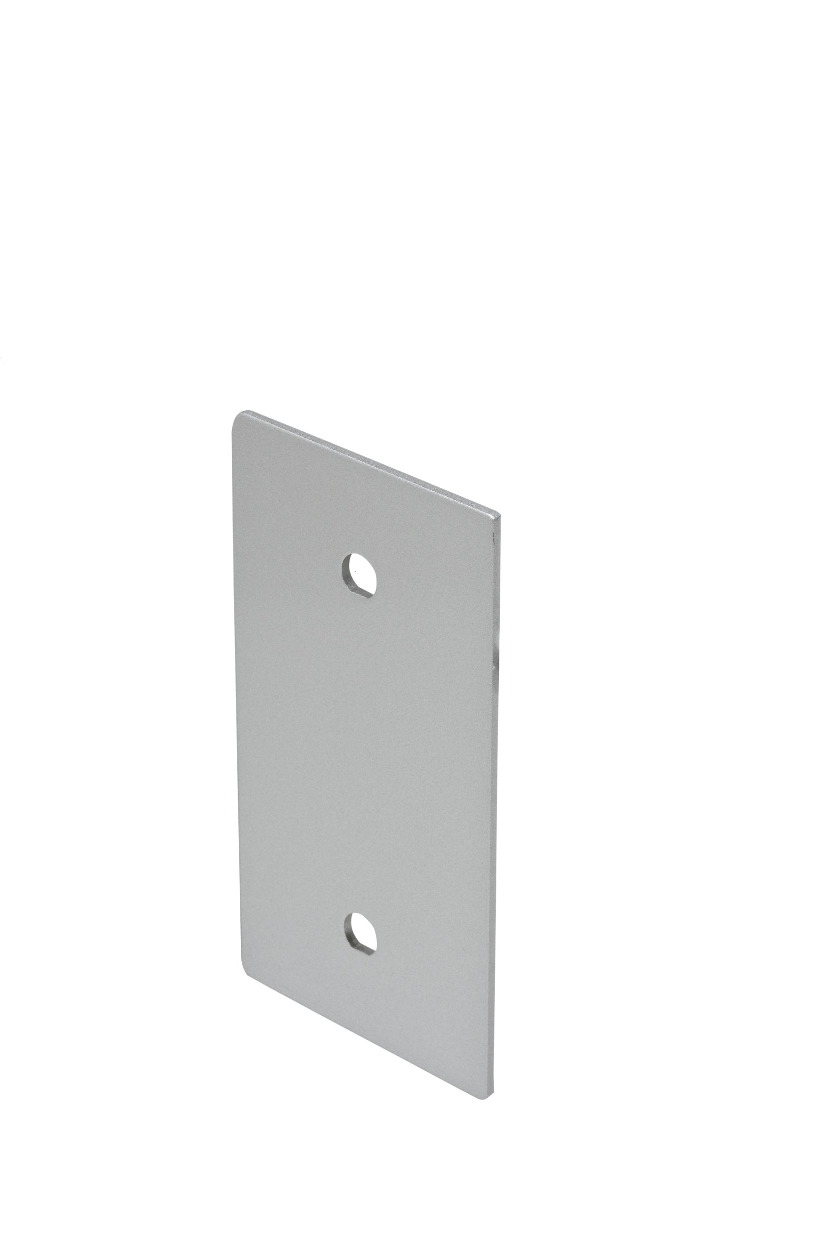 Copper Creek ED-CPLT-AL Exterior Cover Plate for Exit Device Aluminum