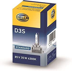Hella 009028311 D3S High Intensity Discharge Capsule 12V/24V 35W P32D-5 4300K D3S High Intensity Discharge Capsule