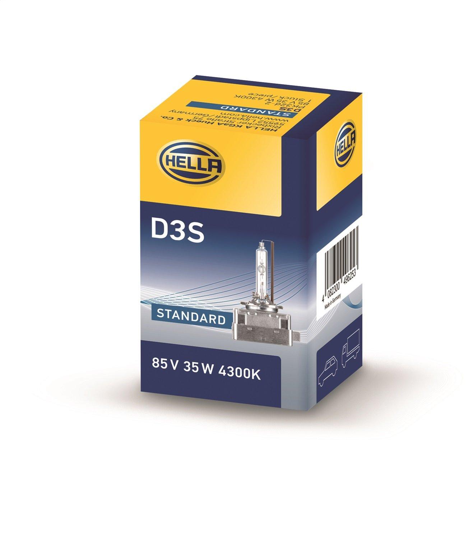 HELLA  8GS 009 028-111 Gl/ühlampe Standard 12//24V D1S Xenon Gasentladungslampe 35 W