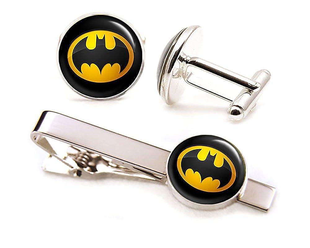 Amazon.com: Batman Tie Clip, Batman Jewelry, Batman Cufflinks Cuff ...
