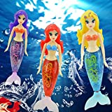 7 month old tub - NEW! Beautiful Mermaid Electronic Fish Robofish Activated Battery Powered Robo Fish Toy Childen Robotic Pet Gift Random Color