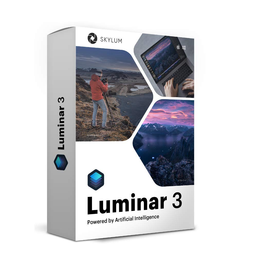Luminar 3 Photo Editing Software | Professional Image Editing Software with an Easy to Use Interface and Image Libraries | for Mac or PC by Skylum Software by Skylum