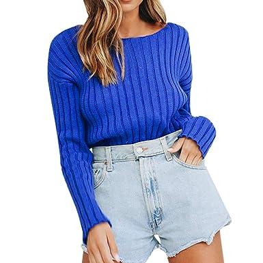 perfectCOCO Women Long Sleeve Shirt Top Loose Casual Striped Button Lapel Blouse Pullover Sweatshirt