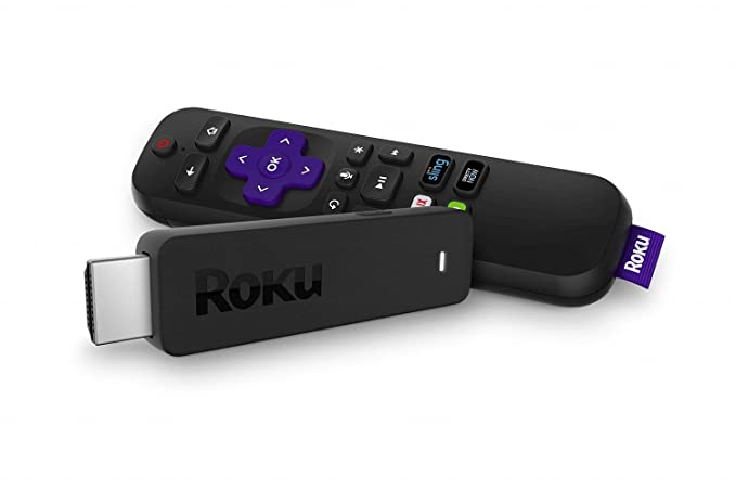 Roku Streaming Stick+ | 4 K/Hdr/Hd Streaming Player With 4x The Wireless Range & Voice Remote With Tv Power And Volume (2017) (Certified Refurbished) by Roku