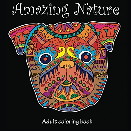 Amazing Nature: Adult Coloring Book (Stress Relieving) (Volume 5) pdf