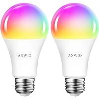 Smart Wifi Led Lamp 12W RGB Gloeilamp A70 Bluetooth Lamp Kleurrijke RGB Afstandsbediening Lamp E27 1521LM via App…
