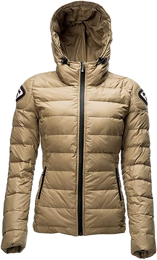 blauer easy winter daunen jacke damen