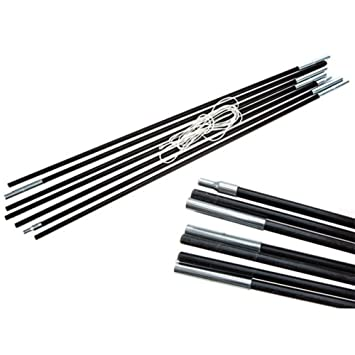 Summit 7 Section 4m x 8.5mm Replacement Fibre Glass Tent Poles  sc 1 st  Amazon UK & Summit 7 Section 4m x 8.5mm Replacement Fibre Glass Tent Poles ...