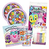 Hatchimals Birthday Party Tableware Deluxe Bundle Plates Napkins Serves 16