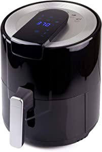 Big.Tree Mini Air Fryer Smart Compact Electronic Kitchen Oven Cooker With Presets LCD Digital Touch Screen And Nonstick Detachable Basket (5L(Design1))