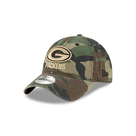 sports shoes 2e59c 61c18 ... sale green bay packers camo core classic twill 9twenty hat cap 22472  beb72