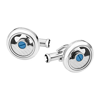 7dbee6c480517 Amazon.com: Montblanc Horlogerie round Cufflinks: Jewelry
