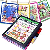 BBLIKE Magic Water Drawing Book Mat, Coloring Books Doodle with 1 Magic Pen Reusable Painting Board Learning Education Creative Toys Birthday Gifts For 3+ Children Kids (B)