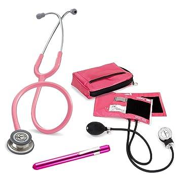 Set Enfermera Profesional + Grabado Personalizado (Rosa): Amazon.es: Salud y cuidado personal
