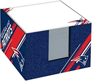 Turner Sports New England Patriots Note Cube W/Holder (8125001)
