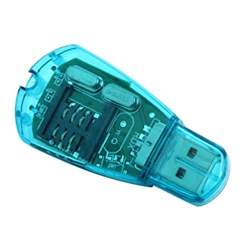 USB teléfono celular Lector de tarjetas SIM para copia de ...