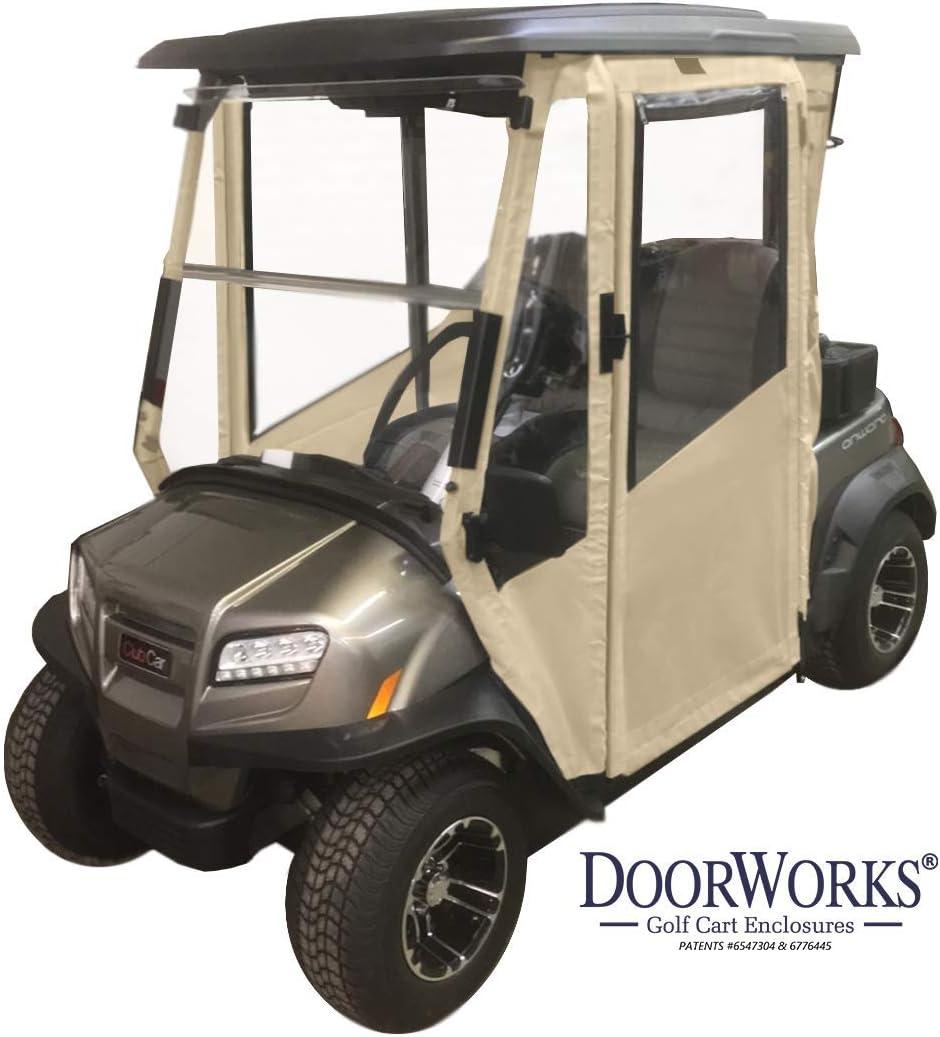 Doorworks Hinged Door Golf Cart Enclosures Ezgo Txt 94 13