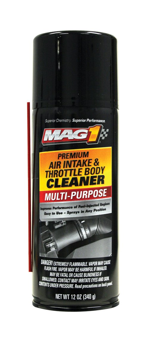 Mag 1 417 Air Intake and Throttle Body Cleaner - 12 oz., (Pack of 12)