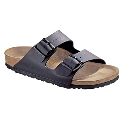 805b5ccaf72 Image Unavailable. Image not available for. Color  Birkenstock Women s  Arizona Birko-Flo Black ...