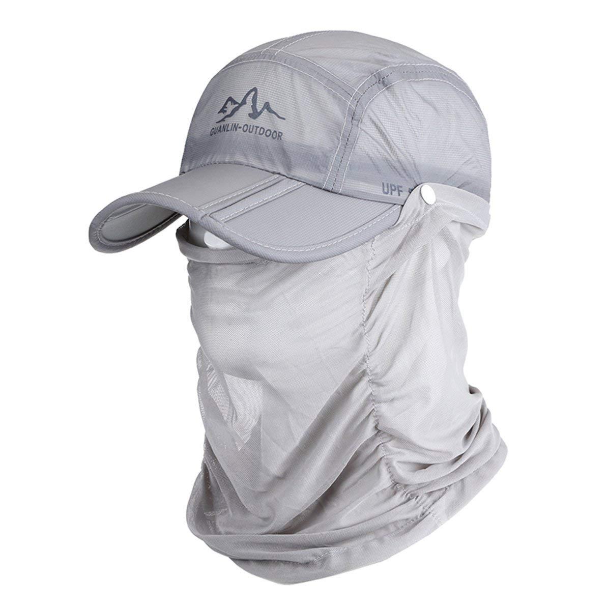 WEIWEITOE Sombrero de béisbol Plegable de Secado rápido Moda ...