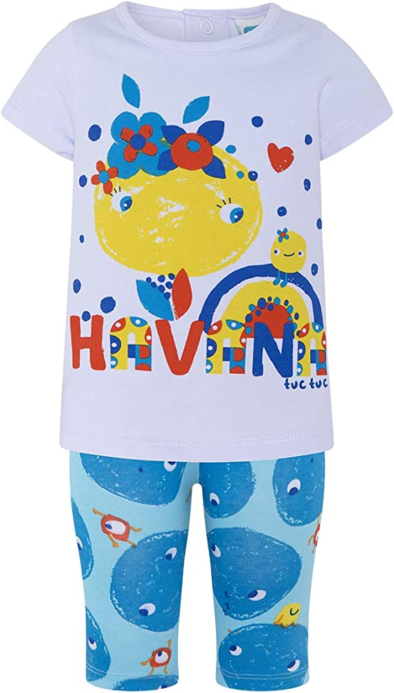Tuc Tuc Camiseta+Leggings Punto Ni/ña Conjunto de Ropa para Ni/ñas