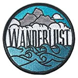 #4: O'Houlihans - Wanderlust Patch - Hiking Camping Travel Adventure Patch - Iron on Patch