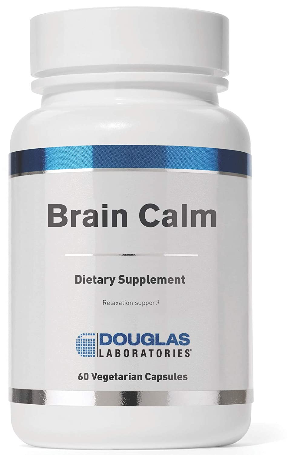 Douglas Laboratories – Brain Calm – Blend of Amino Acids and Nutrients to Promote A Calmer Brain* – 60 Capsules
