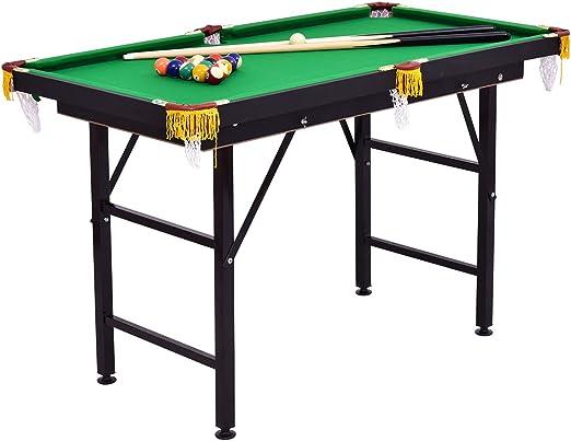 "Costzon 47"" Folding Billiard Table - Best For Kids"