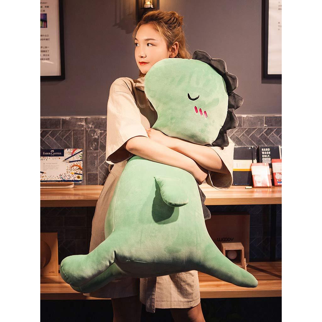 Juguete de peluche Dinosaurio muñeca Juguete Almohada Linda niña durmiendo Almohada Peluche de Juguete Almohada Suave