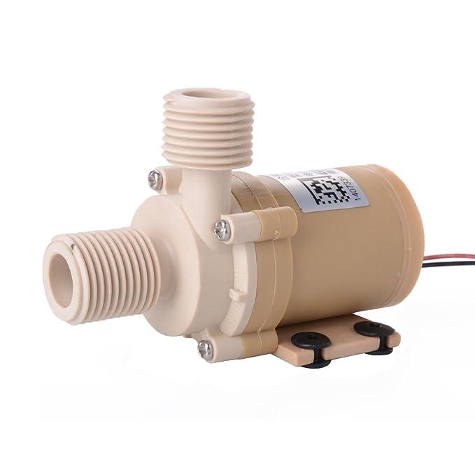 Solar 12V DC Hot Water Circulation Pump Brushless Motor Water Pump 3M 100° TE087