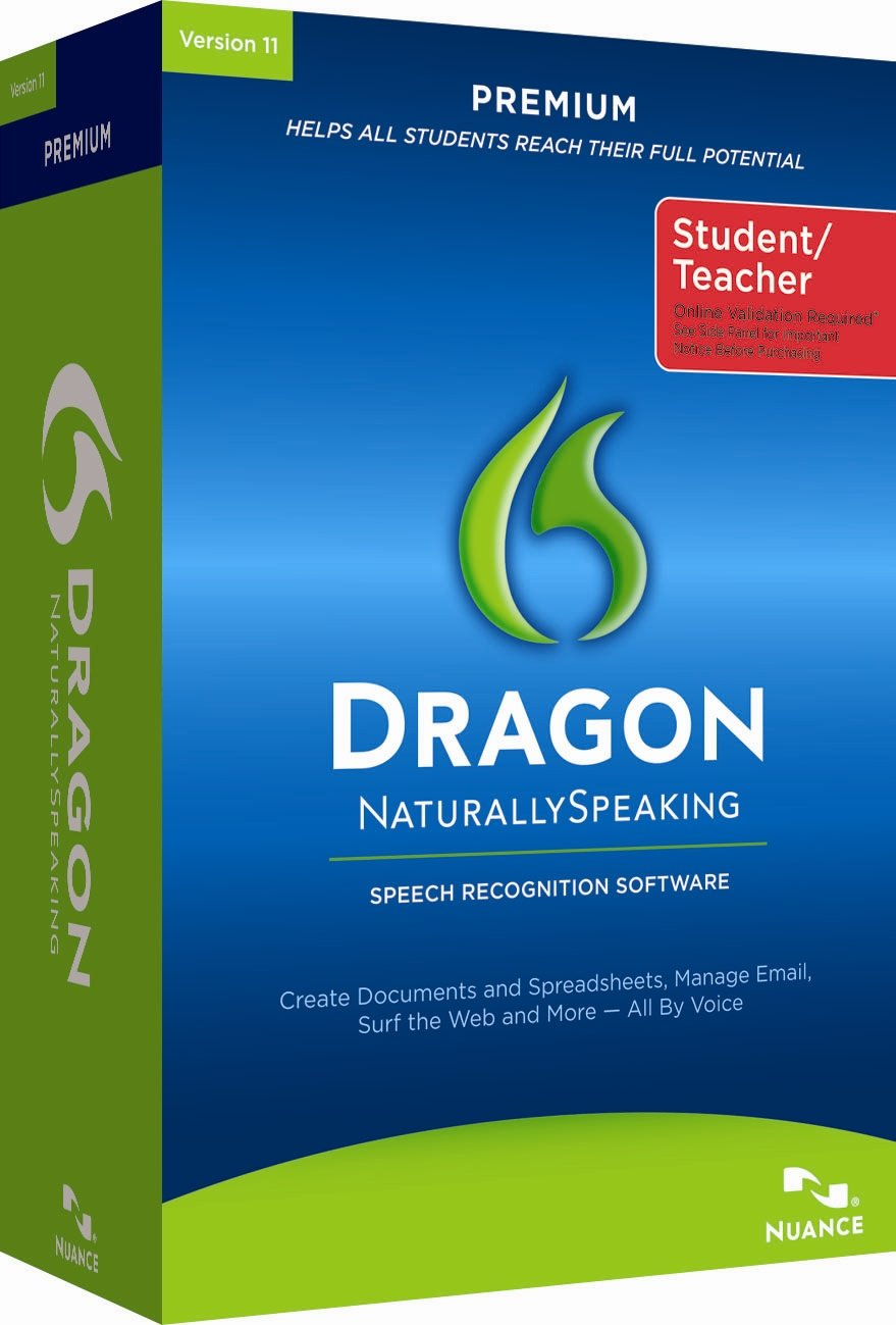 Dragon NaturallySpeaking Premium 11 Student Edition [Old Version] by Nuance Dragon