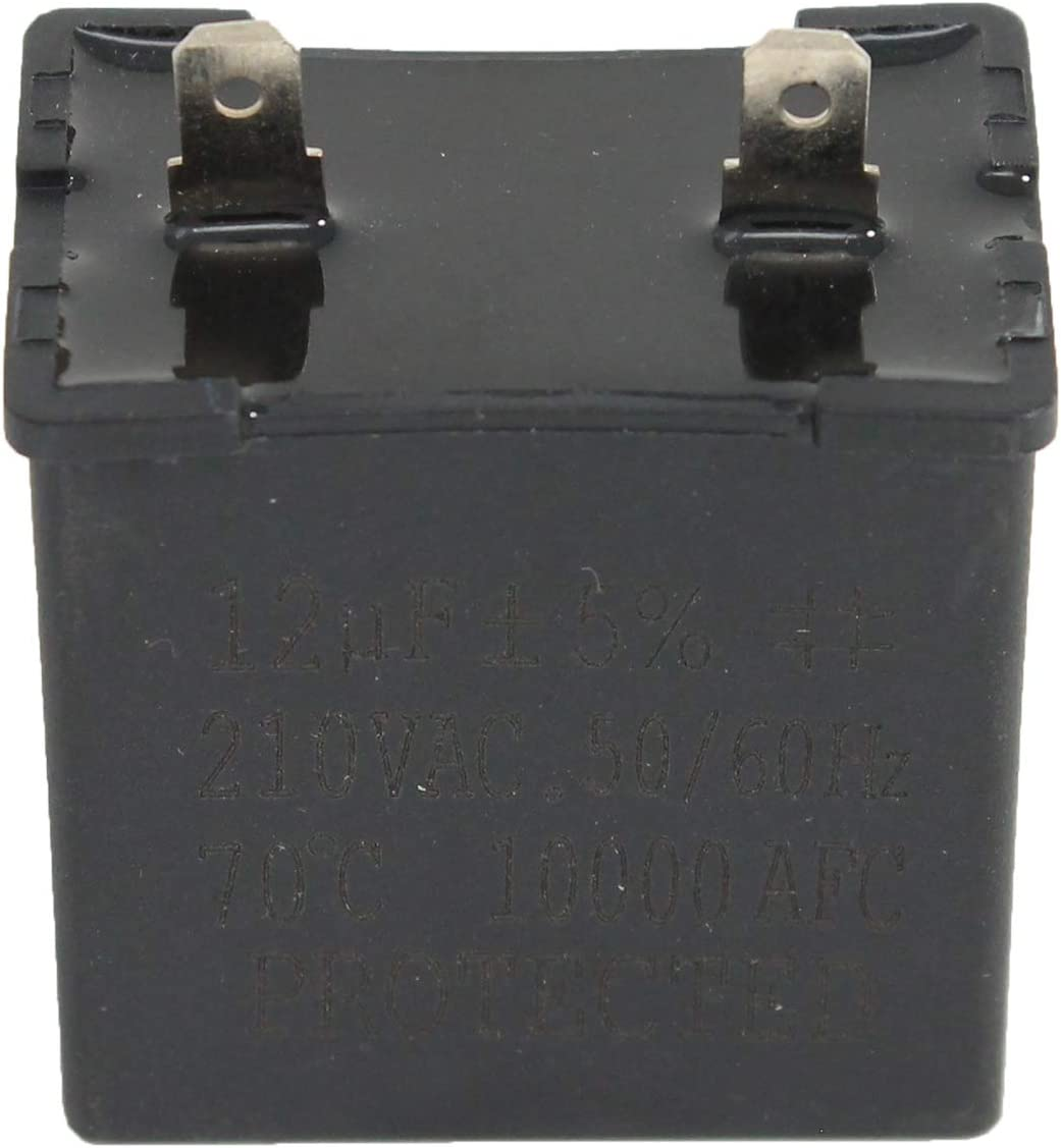 W10662129 Refrigerator and Freezer Compressor Run Capacitor Replacement for Kenmore//Sears 10656246400 Refrigerator UpStart Components Brand Compatible with 2169373 WPW10662129 Run Capacitor