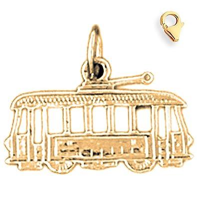 14 K oro amarillo 14 mm carrito encanto con cierre de langosta: Charm Obsession: Amazon.es: Joyería
