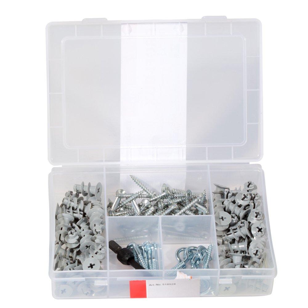 juego profesional 542392 Caja de tacos y tornillos Fischer