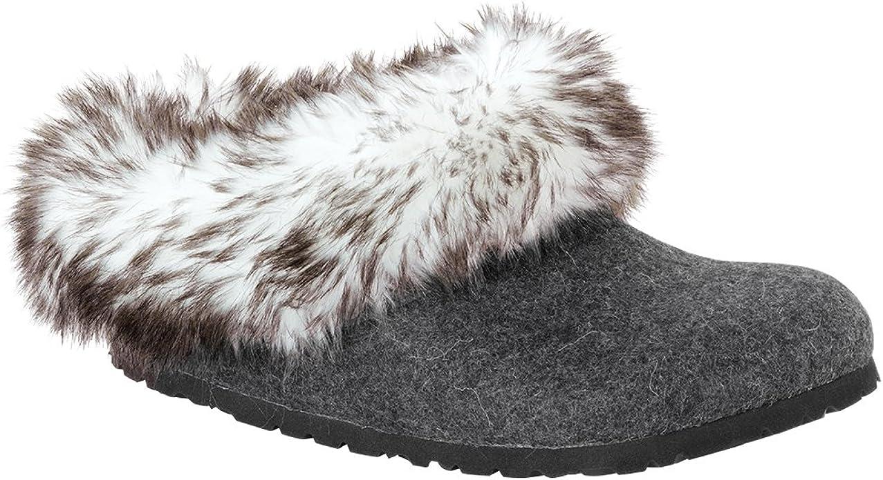 Birkenstock Kaprun Faux Fur Narrow