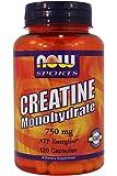 Now Foods: Creatine Monohydrate 750 mg, 120 Caps