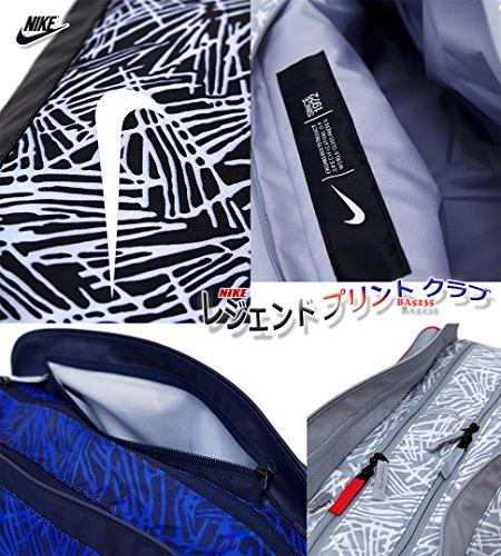 Nike Legend Club Print Black Black White 1 Duffel Bags