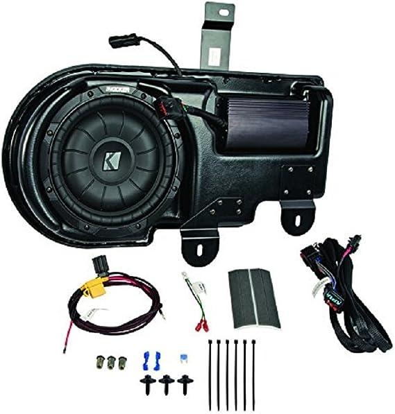 Compatible with 2009-2014 Ford F-150 Super Cab Truck Empty Kicker 10 Custom Sub Box Enclosure