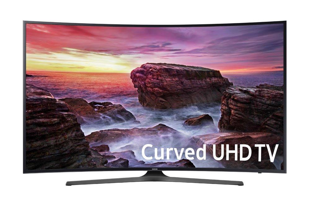 Samsung Curved 55 Inch 4K Smart LED TV UN55MU6500FXZA (2017)